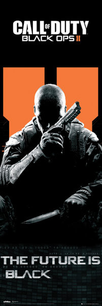 Poster Call of Duty Black Ops II - future