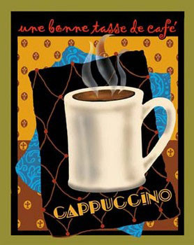 Cappuccino Poster