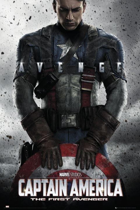Poster CAPTAIN AMERICA - teaser