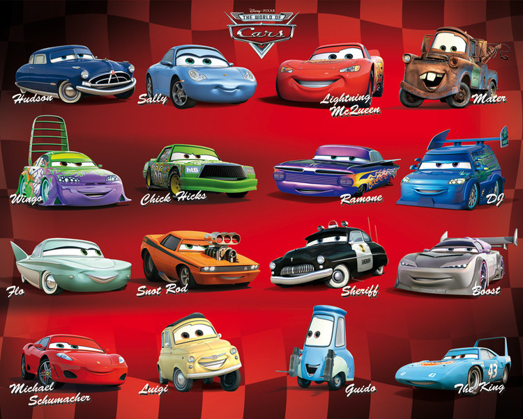Poster CARS - compilation