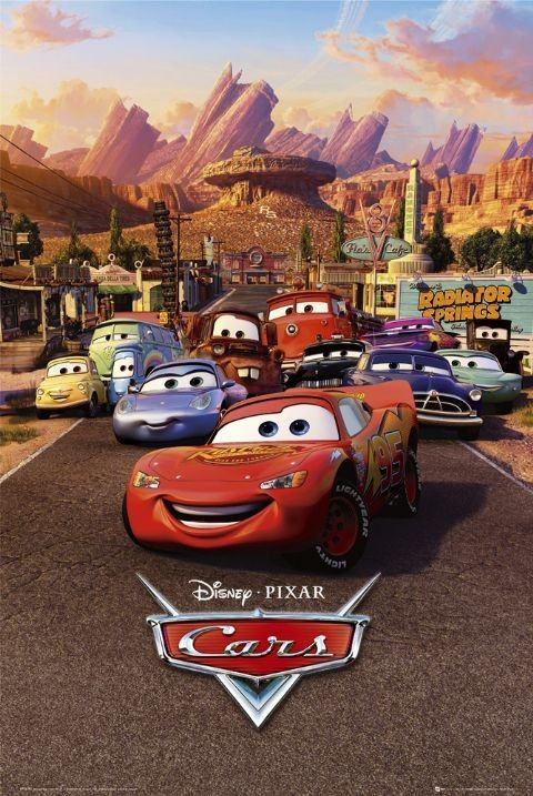 Poster CARS - one sheet
