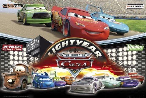Poster CARS - world of