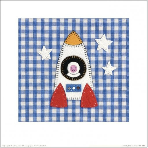 Poster Catherine Colebrook - Rocket Boy