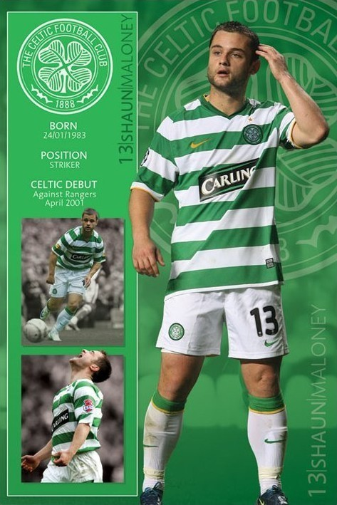 Poster Celtic - maloney