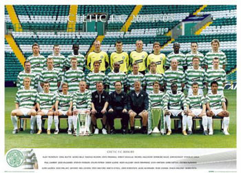 Poster Celtic - Team 04/05