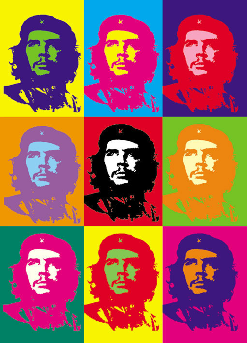 Poster Che Guevara - pop art