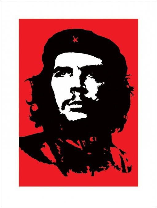 Che Guevara - Red Kunstdruck