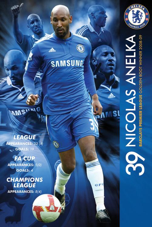 Poster Chelsea - anelka 09/2010