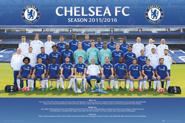 Poster Chelsea FC - Team Photo 15/16