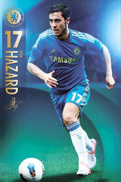 Poster Chelsea - Hazard 12/13
