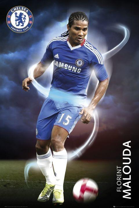 Poster Chelsea - malouda