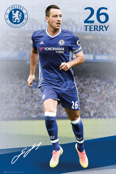 Poster Chelsea - Terry 16/17