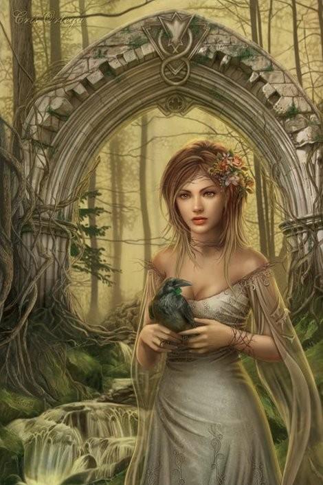 Poster Chris Ortega - mystic arch