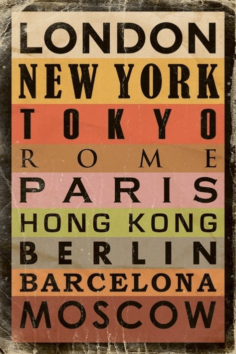 Poster Cities