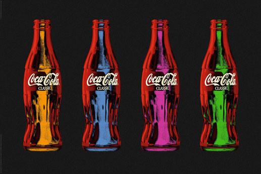 Poster Coca Cola - popart