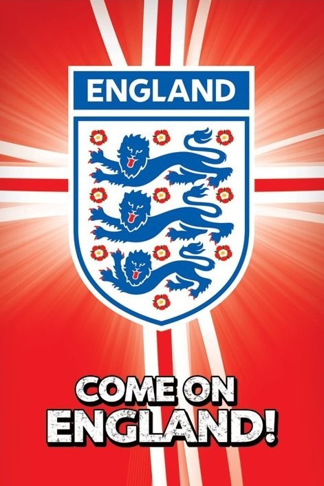 Come on England Poster