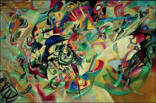 Composition 1919 Kunstdruck