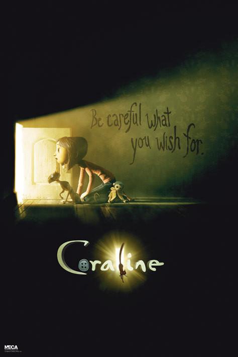 Poster CORALINE - Teaser