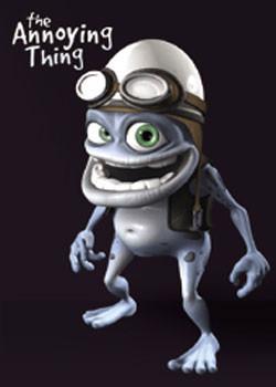 Poster Crazy Frog - Black