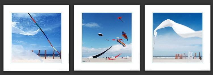 Danse avec le vent Kunstdruck