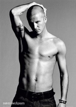 Poster David Beckham - arm