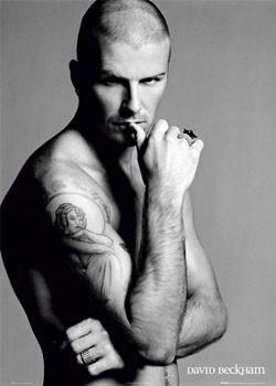Poster David Beckham - ring