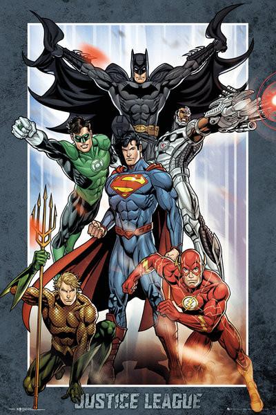 Poster DC Comics - Justice League Group