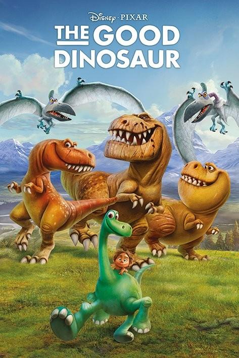 Poster Den gode dinosaurien - Characters