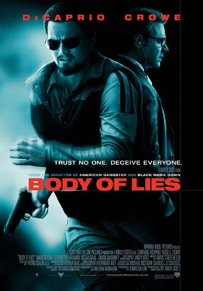 Poster DER MANN, DER NIEMALS LEBTE - BODY OF LIES - Russell Crowe, Leonardo DiCaprio