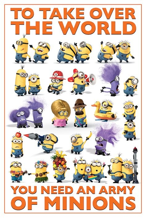 Despicable Me 2 (Dumma mej 2) - Take Over the World poster