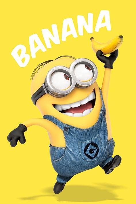Poster Despicable Me - Ich - Einfach unverbesserlich - Banana