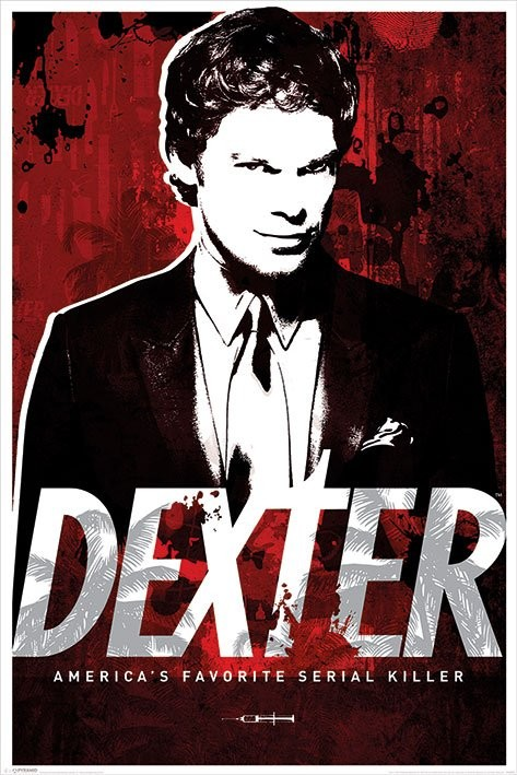 Poster Dexter - America's Favorite Serial Killer