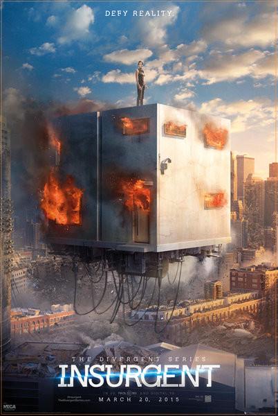 Poster Die Bestimmung: Insurgent - Defy Reality