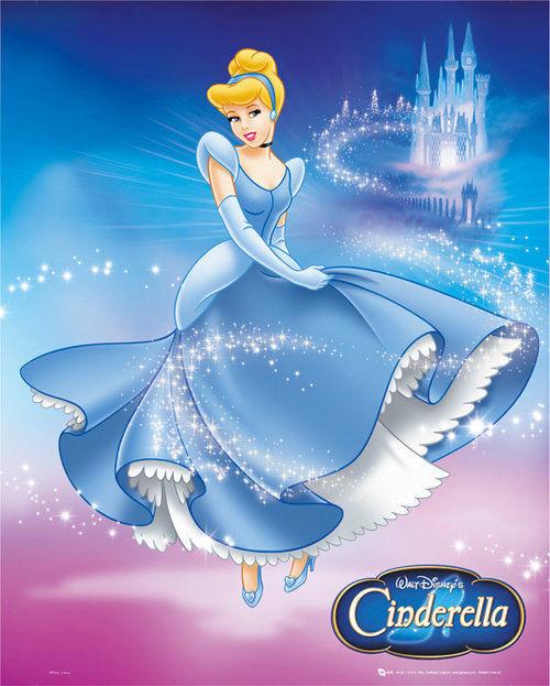 Poster Disney Prinsessor - Disney