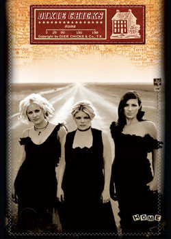 Poster Dixie Chicks - home