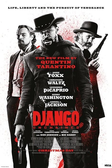 Poster DJANGO - life liberty