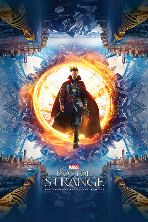 Poster Doctor Strange - Portal