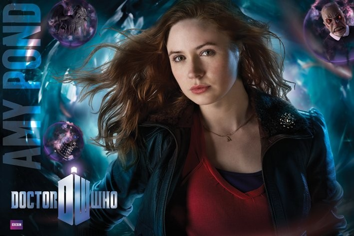 Poster DOCTOR WHO - amy pond