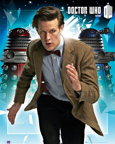 Poster DOCTOR WHO - daleks