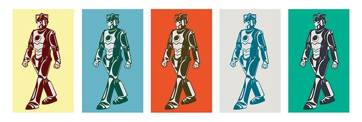 Poster Doctor Who - Walking Cyberman