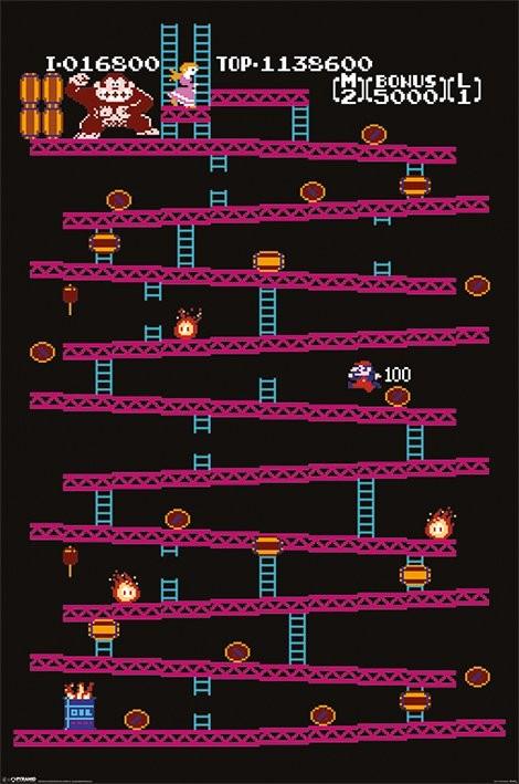 Poster Donkey Kong - NES