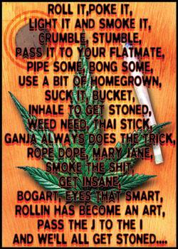 Poster Dope poem