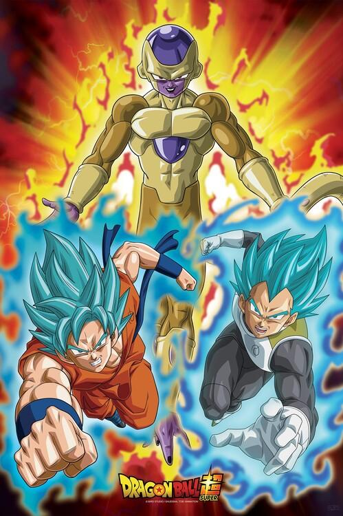 Poster Dragon Ball - Golden Frieza