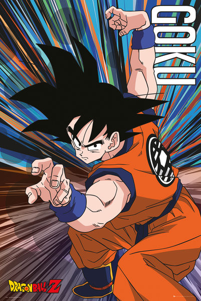Poster Dragon Ball Z - Goku Jump