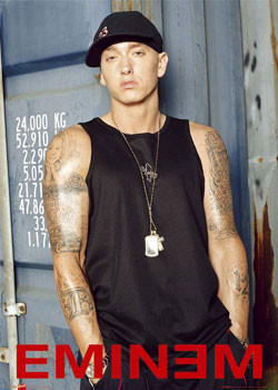 Poster Eminem - warehouse