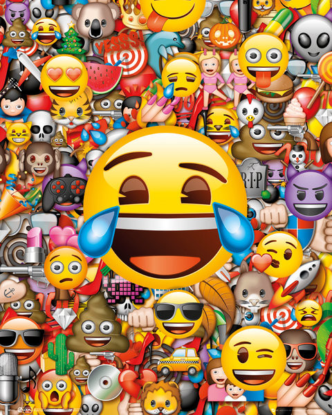Poster Emoji - Collage