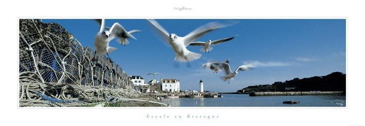 Escale en Bretagne Kunstdruck