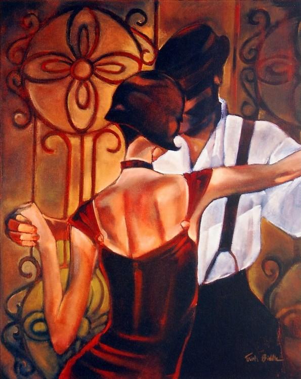 Evening Tango Kunstdruck