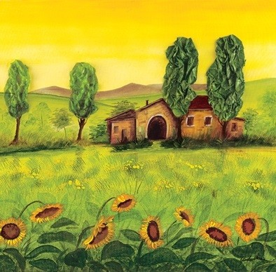 Farm Emilian Kunstdruck