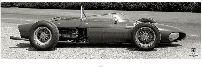 Poster Ferrari F1 Vintage - Sharknose
